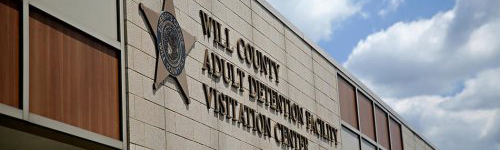 Will County Video Visitation Sign